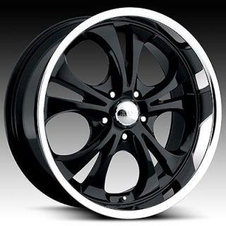20 inch 20x8.5 Boss black 304 wheel rim 6x5.5 Entourage QX4 QX56 Axiom