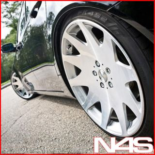 S550 S600 S63 S65 MRR HR3 CONCAVE VIP SILVER STAGGERED WHEELS RIMS