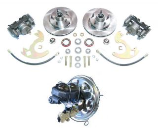 Power Disc Brake Conversion Kit Fits in 14 Wheels (Fits Camaro
