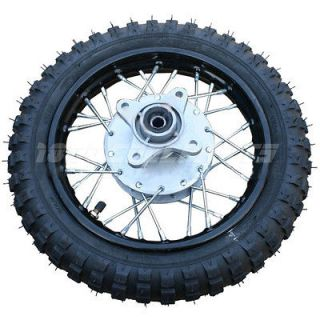 10 Rear Rim Wheel Tire Honda XR50 CRF50 XR CRF 50 Pit Dirt Bike 50cc