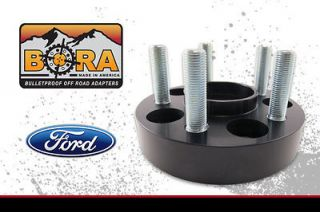 Ford F 150 97 02 1.50 BORA Wheel Spacer Kit (Set of 4) Includes Lugs