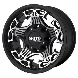 Moto Metal Series MO909 Skull Black Machined Wheel 17x9 5x127.0mm BC