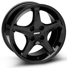 Gloss Black Ford Mustang Cobra R Factory OE Replica Wheels Rims 4 Lug