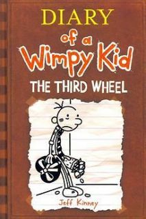 Diary of a Wimpy Kid The Third Wheel by Jeff Kinney Hardcover Book