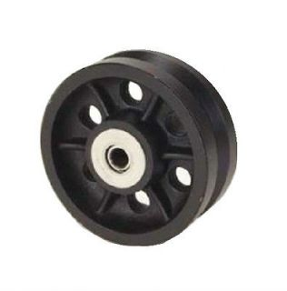 Cast Iron V Groove Wheel 8 x 2 with 1/2 ID Roller Bearing 1000# Cap