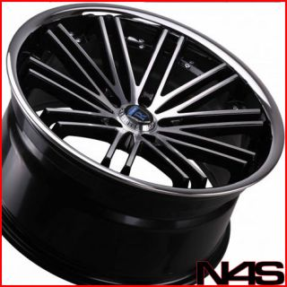 ROHANA RC20 MACHINED DEEP CONCAVE STAGGERED WHEELS RIMS (Fits G35