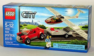 LEGO CITY AIRPLANE 4442  Glider Airline Exclusive NEW BOXED