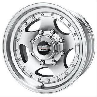 American Racing AR 23 Silver Wheel 16x8 5x5.5 BC Set of 2