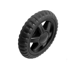 Pcs Replaceable Plastic Bearing Rubber Tyre Shopping Cart Black Wheel