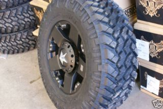 18 XD Rockstar Black Nitto Trail Grappler 285/65 18 33