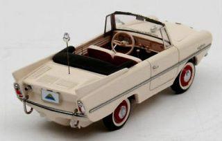 wonderful modelcar AMPHICAR 1961   w h i t e   scale 1/43   ltd.500