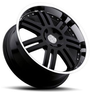 24 Black Rhino Wheels Rims 6x5 5 6 Lug Chevy Chevrolet GM Truck Tahoe