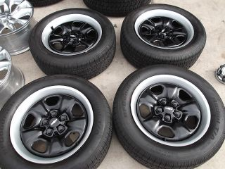 18 2010 2013 Chevy Camaro Black Steel Wheels Tires Rims BFGoodrich