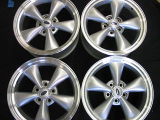 Set of 4 Ford Mustang Alloy Wheel Rims 17 x 8 2005 2009 Silver Finish
