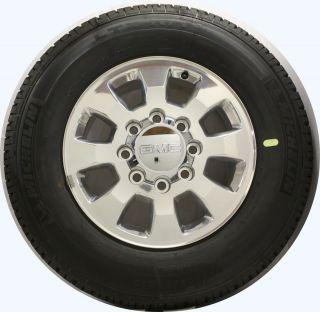 GMC Sierra HD 2500 3500 8 Lug 18 Wheels Rims Tires FREE TPMS Sensors