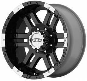 Black Moto Metal Wheels 6 Lug MO951 Rims GMC Yukon Sierra Truck