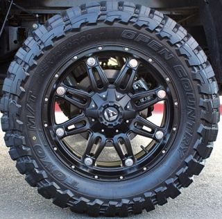 20 WHEELS RIMS FUEL OFF ROAD HOSTAGE W/ 33X12.50X20 TOYO OPEN COUNTRY