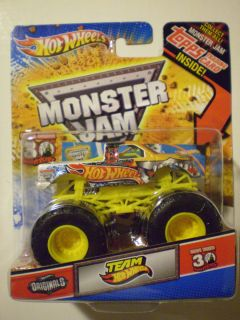 Hot Wheels 2012 Monster Jam 1 64 Team Hot Wheels Topps Trading Card