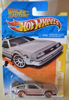 2011 Hot Wheels 18 Back to The Future Time Machine New