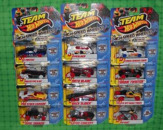 2011 Hot Wheels Team     High Speed Wheels     Set of 12