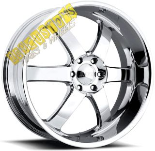 Wheels 330 Chrome Rims Tires Yukon 2007 2008 2009 2010 2011 12