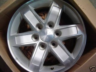 17 GMC 2009 2010 2011 Sierra Chevrolet Cadillac Wheels Rims 4