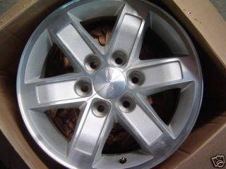 17 GMC 2009 2010 2011 Sierra Chevrolet Cadillac Wheels Rims 4