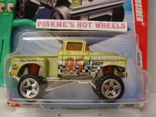 New 2010 Hot Wheels Race 56 Flashsider 192★GREEN★