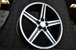 20 Black IROC Wheels Old Chevy Rims Impala Camaro Cutlass El Camino