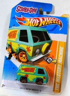 Hot Wheels 2012 New Models Scooby Doo The Mystery Machine Van