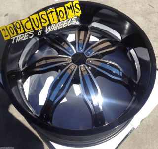 24 inch Rims Wheels 20 RW129 5x139 7 Dodge RAM 2007 2008 2009 2010