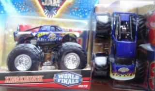 2010 Hot Wheels Monster Jam 20 King Krunch World Finals Paint 1 64