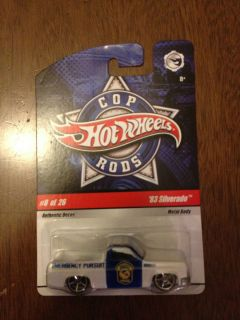Hot Wheels 2009 Cop Rods 8 26 83 Silverado
