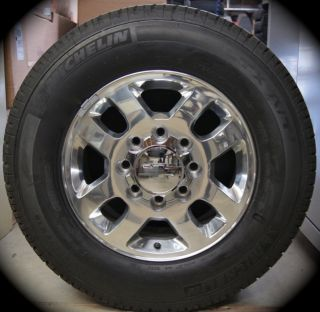 2011 Chevy Silverado HD 2500 3500 18 Wheels Rims Tires