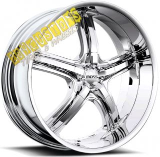 Wheels 333 Chrome Rims Tires 5x115 Dodge Magnum 2006 2007 2008