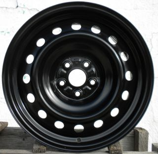 16 Black Steel Wheel Rim 2009 2010 09 10 New Take Off NW Code