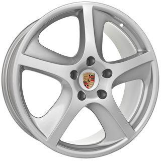 inch Fits Porsche 2009 Cayenne s GTS Turbo Silver Wheels Rims