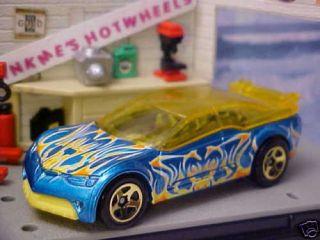 2008 Hot Wheels Easter Speedsters Blue Pontiac Rageous ★new Loose