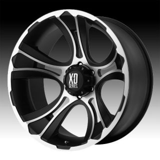 22 inch 22x11 XD Machined Wheels Rims 8x180 2011 Silverado Sierra 2500