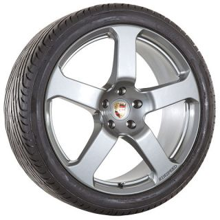 22 inch Porsche 2010 Cayenne S GTS Turbo rims wheels and tires package