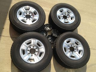 Lug 2008 Chevy 2500HD Wheels and Tires