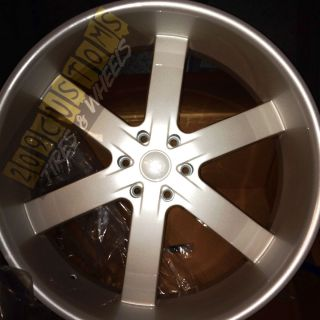 RIMS WHEELS TIRES U2W55 6X139 7 PEARL WHITE CADILLAC ESCALADE 2007
