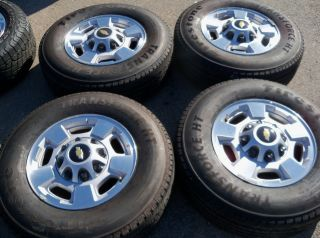 Chevy Tahoe Suburban Silverado 2500 2011 17 Wheels and Tires