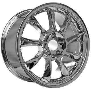 18 Chrome Mercedes Benz Wheels Rims 2009 C CLK E s SL SLK Class AMG