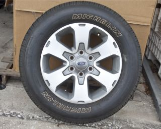 Set of 4 18 Alloy Wheels Rims for A 2010 2011 Ford F150 with Michelin