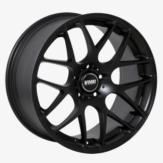 19 VMR V710 Matte Black Wheels Rims Fit VW Golf Rabbit GTI Jetta MKV