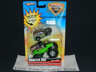 HOT WHEELS MONSTER JAM 2009 GRAVE DIGGER MONSTER DUO MONSTER TRUCK CAR