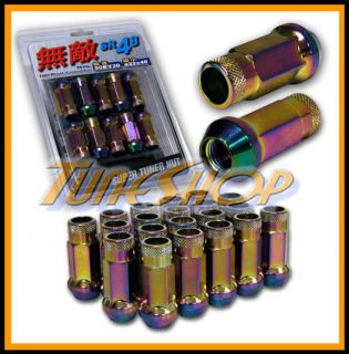 Muteki SR48 Wheels Lug Nuts 12x1 5 1 5 Acorn Rim Extended Open End 20