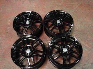 17 2005 2010 Toyota Scion TC Black Alloy Wheel Wheels Rims