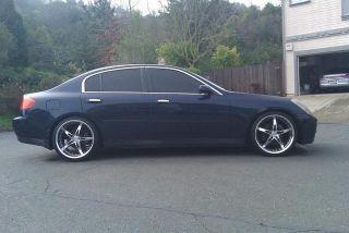 20 MRR GT5 Rims Wheels Lexus IS250 GS400 GS300 Mustang G35 Sedan M45